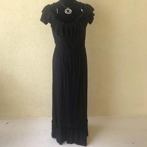 Michael Kors Black Maxi Sundress Medium New $110